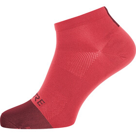 GORE WEAR M Light Chaussettes courtes, hibiscus pink/chestnut red